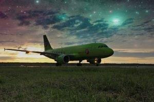 Фото редактор. Эффект Звездное небо